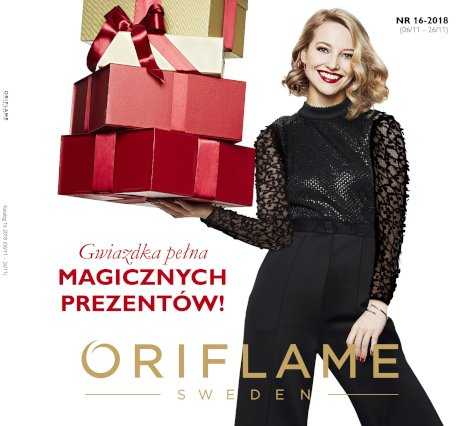 katalog 16/2018 Oriflame
